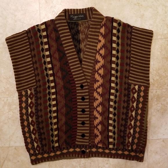 Long Vintage Boho Vest